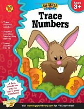 Trace Numbers Workbook, Grades Preschool - K by Big Skills for Little Hands