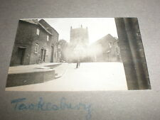 Old amateur photograph Tewkesbury 1935 Ref 5abc8