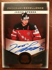 15-16 UD The Cup Hockey Program Of Excellence Jason Spezza Auto 6/10