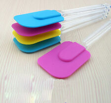 1Pc New  Kitchen Silicone Cake Spatula Mixing Scraper Brush Butter Utensil Tool