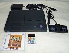 NEC PC Engine DUO Console (New Capacitor Replaced) System + 2 Games Tested Japan