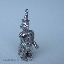 VINTAGE STERLING SILVER CIRCUS CLOWN CHARM