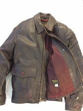 Avirex G8 Leather Jacket Vintage Size 46 Made In USA