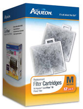 AQUEON FILTER CARTRIDGE MEDIUM. FOR QUIET FLOW 10 FILTER. 12PK