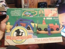 Vintage Whistlin Dixie The Little Whistler 20 piece Train Set NEW in Box