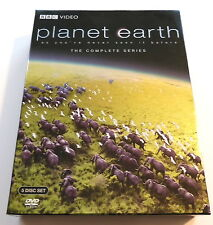 PLANET EARTH, The Complete Series, BBC Video, 5 Disc Set on DVD, Excellent, 2007