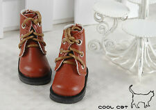 ☆╮Cool Cat╭☆【15-06】Blythe Pullip Doll Short Shoes # Brown