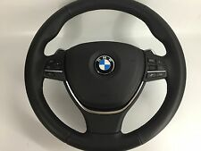 BMW SPORT F01 F10 F11 F07 5 GT 7 Steering Wheel & AIRBAG Shift Paddles Like New