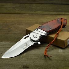 Elk Ridge Ballistic Assisted Opening Pakkawood Handle Linerlock Knife 003SW