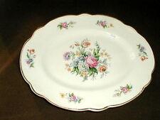 Homer Laughlin Marigold MARSH BOUQUET #M212 Oval Platter