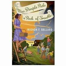 Miss Dimple Picks a Peck of Trouble: A Mystery (Miss Dimple Mysteries)-ExLibrary