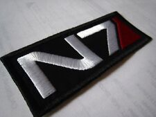 Mass Effect N7 Sew On/ Iron On Embroidered Patch