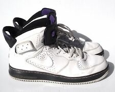 JORDAN AIR MEN'S WHITE/BLACK BASKETBALL SHOES SZ 14 IN VERY GOOD+ CONDITION