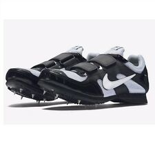 Nike Zoom TJ3 TRIPLE JUMP Track Shoes BLACK 474132 002 MEN 9 with Spikes & SRT