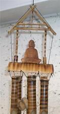 Feng Shui 6 Tubo de Bambú Natural Buda Jardín Windchime Carillón De Viento Chimes
