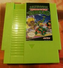 Ultimate Teenage Mutant Ninja Turtles Nintendo (NES) w/ Dust Cover *NEW* *TMNT*