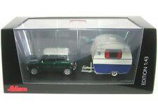 Mini Cooper avec Caravane (Perdreaux Nid D'hirondelle) Mobil home