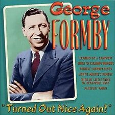 GEORGE FORMBY Turned Out Nice Again CD Best Of ~ Greatest Hits ~ George Harrison