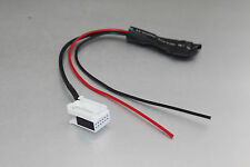 Bluetooth module radio stereo Aux cable adaptor For benz c Class W203 Comand APS