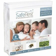 King Size SafeRest Classic Hypoallergenic Waterproof Mattress Protector