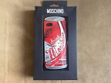 MOSCHINO RED DRINK MOSCHINO COLA IPHONE5 S HOLDER HARD CASE COVER CELL ACCESORIE