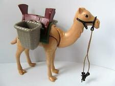Playmobil Egyptian/African safari/zoo/nativity animal: Camel & saddle bags NEW