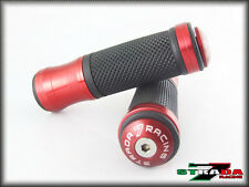 Strada 7 CNC Red Grips & Bar Ends Combo MV Agusta F4 RR 1000 F3 675 800 AGO