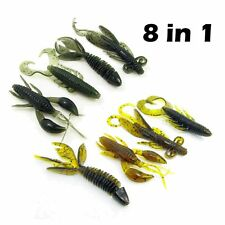 Worm Swivel Jig Tackle Practical Bait Fishing Lures Soft