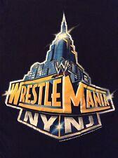WWE Road to Wrestlemania 29 Women's Small S T-Shirt NY NJ Rock John Cena WWF
