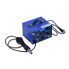 SMD 2in1 862D+ Soldering Iron Welder Hot Air Gun Rework Station + Accessories LO
