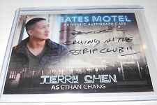 Bates Motel ( ATC ) Terry Chen as Ethan Chang Autograph Trading Card