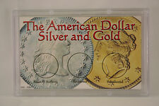 American Dollar, Silver & Gold 3 x 5, Snap Tite Coin Storage