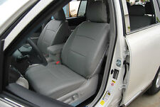 TOYOTA HIGHLANDER 2011 IGGEE S.LEATHER CUSTOM FIT SEAT COVER 13COLORS AVAILABLE