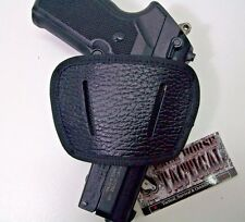 Ambidextrous Slide Pistol Holster EDC Simple Concealed Carry Rig IWB Small/Med