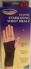 BELL-HORN Stabilizing Wrist Wrap Size Xtra Large Left Hand Wrist Brace