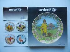Heinrich Villeroy & Boch UNICEF Kinder der Welt Nr. 3 Peru mit OVP (Nr. 2-3-8)
