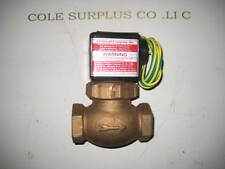 JD GOULD M 3V SOLENOID VALVE , 10-250 PSI 120-240 VOLTS AIR WATER , (A1)