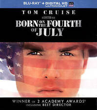 Born on the Fourth of July (Blu-ray, Digital HD, 2014) Ships within 12 hours!!!