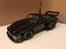 SUPER RARE 1/18 EXOTO 1976 Porsche 935 Turbo In Black Diecast Car