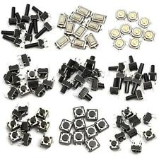 140pcs 14Types Momentary Micro Tact Tactile Push Button Switch SMD SMT Dip