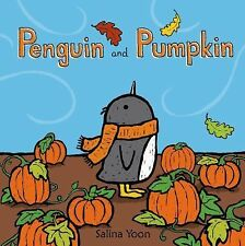 Penguin and Pumpkin by Salina Yoon (2014, Hardcover)