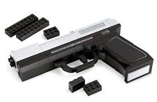 BUILDING BRICK BLOCK CUSTOM MP-45 HAND GUN PISTOL WEAPON COMPATIBLE WITH LEGO