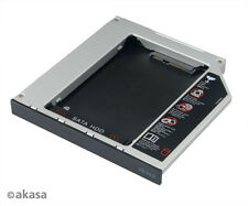 "Akasa AK-OA2SSA N Stor 2.5"" Slimline Optical Disk Adapt SATA HDD to SATA ODD Bay"