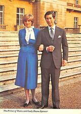 B99723 the prince of wales charles and lady diana spencer  uk royalty
