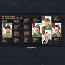 2015 - Australia - Australian Legends - The Victoria Cross - minisheet MNH