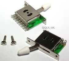3-Way Pickup Selector Switches Toggle Leaver Switch For Fender Tele Strat Guitar