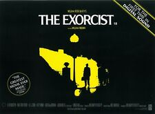 The Exorcist movie poster - UK Mini Movie Poster  Linda Blair, William Friedkin