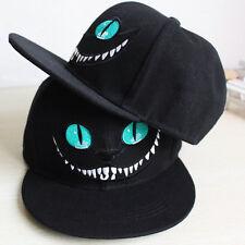 Unisex Men Adjustable Sport Baseball Hat Hip-hop Women Snapback Cheshire Cat Cap