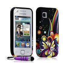 coque étui en gel pour Samsung Wave 575 S5750 avec motif HF05 + Mini stylet