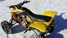 Honda  400ex GRIPPER seat cover  YELLOW STICHING